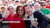 Stéphane Plaza : Karine Le Marchand lui déclare son amour pour son anniversaire (Photo)