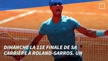 """Tennis - Roland-Garros : Rafael Nadal en route pour la """"Undecima"""""""