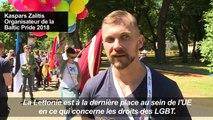 Une Baltic Pride à Riga pour les droits des personnes LGBT