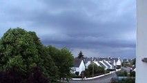un petit orage qui arrive