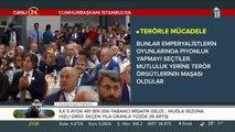 Cumhurbaşkanı Erdoğan İstanbul'da konuşuyor