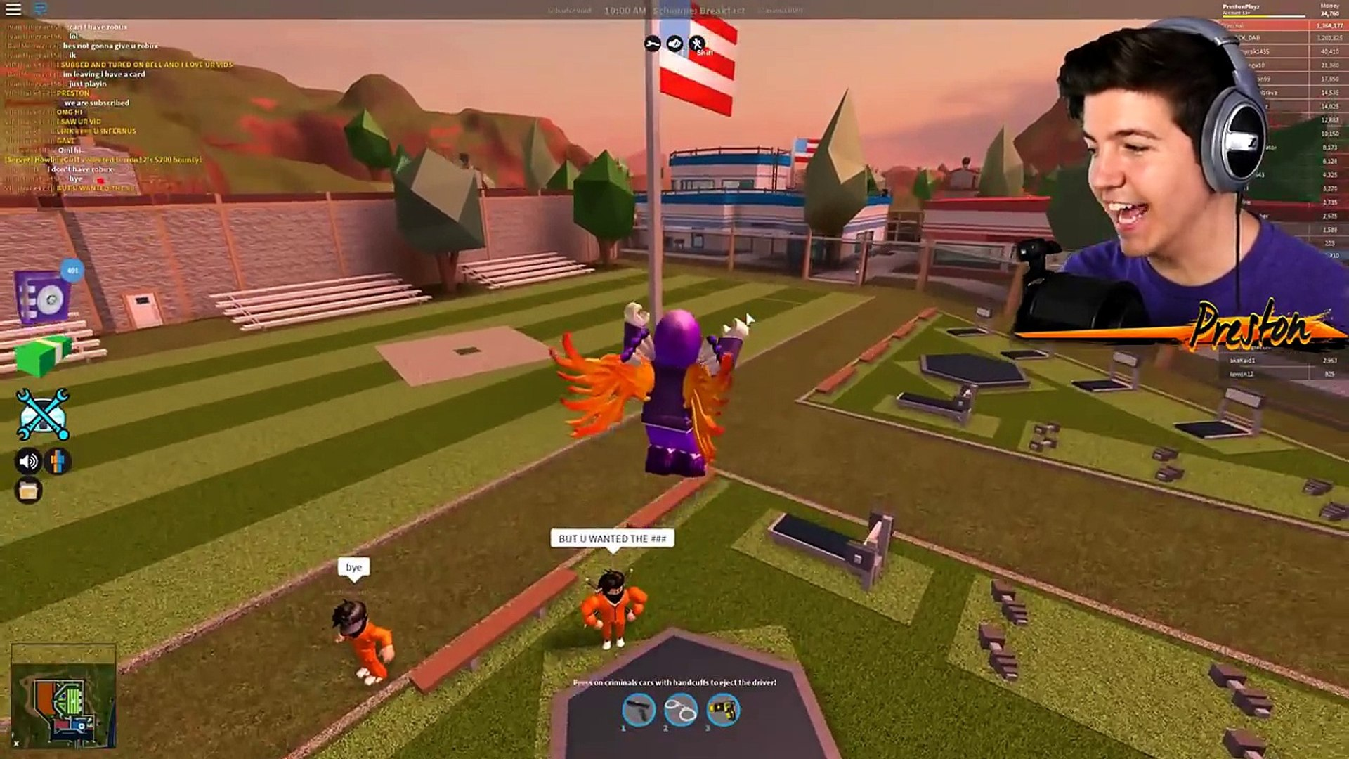 How To Play Music In Roblox Jailbreak On Mobile Arresting The Richest Player In Roblox Jailbreak 10 Million