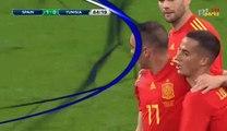 Gol de Iago Aspas - Espania 1-0 Tunisie 09-06-2018