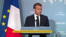 Emmanuel Macron confirme que le sommet du G7 aura lieu à Biarritz en 2019
