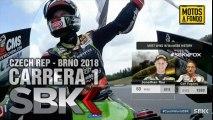 FULL SBK 2018 BRNO CZECH REP RACE 1 SP - CARRERA 1 BRNO 2018