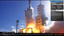 SpaceX Falcon Heavy Liftoff | Launch Carrying Starman