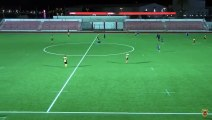 Great 'touch and go' from Lynx FC that paid off with the opening goal against Glacis FC