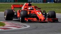 Ferrari's Sebastian Vettel takes pole position in Canadian Grand Prix