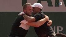 Roland-Garros 2018 - Tennis fauteuil : Stéphane Houdet et Nicolas Peifer, vainqueurs du double sur le plateau de France tV sport