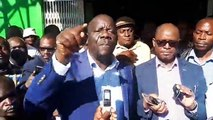 PF SECRETARY GENERAL HON. DAVIES MWILA ADDRESSES THE MEDIA We are streaming live from the Patriotic Front -PF- Party Headquarters here in Lusaka where the Sec