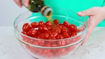 You can make Easy Oven Roasted Tomatoes using either plum tomatoes or cherry tomatoes. Quick and easy oven roasted tomatoes add flavor to any meal!WRITTEN RECI