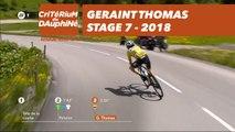 Geraint Thomas - Étape 7 / Stage 7 (Moûtiers / Saint-Gervais Mont Blanc) - Critérium du Dauphiné 2018