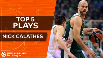 Top 5 plays, Nick Calathes, All-EuroLeague First Team