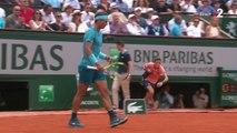 Roland-Garros 2018 : Le premier set dans la poche de Rafael Nadal après 58 minutes !