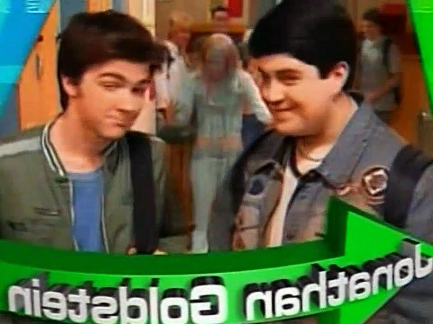 Merry Christmas Drake And Josh Monkey.Drake And Josh S02e13 Drew And Jerry