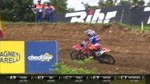 Jeffrey Herlings passes Tim Gajser - MXGP Race 2 - MXGP of France