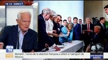 """G7 : """"Dans cette photo, il ne faut pas oublier John Bolton qui influence énormément Donald Trump. Pour lui ce qui compte c'est la force, la violence, la guerre"""", estime Philippe Labro"""