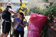 Bedoin : départ vers l'estive