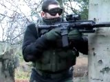 EXTREME AIRSOFT / SOFTAIR ACTION A&K M249 JG AK47 JG MP5