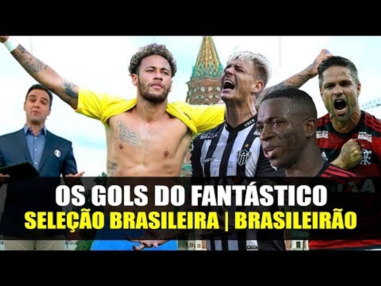 OS GOLS DO FANTÁSTICO (HD 60fps) CAMPEONATO BRASILEIRO | #PARTIU RÚSSIA 2018