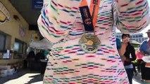 Ms Gulf Coast Marathon getting fed by the shed bbq. 1,400 sandwiches down, 1,000 to go! Mississippi Gulf Coast Marathon