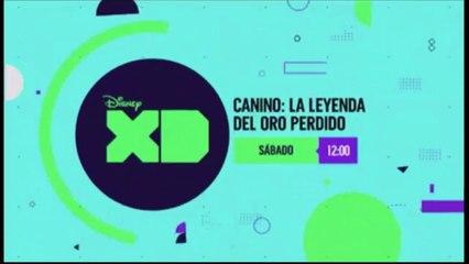 "PROMO ""CANINO: LA LEYENDA DEL ORO PERDIDO"" (16-06-2018) EN DISNEY XD"