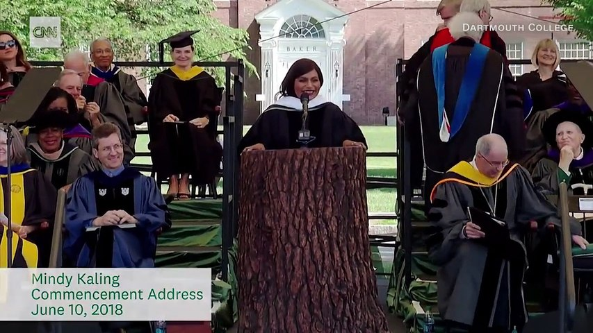 Mindy Kaling Offers Advice To Graduates Video Dailymotion
