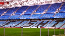 Os incríveis relvados que Portugal irá pisar no Mundial