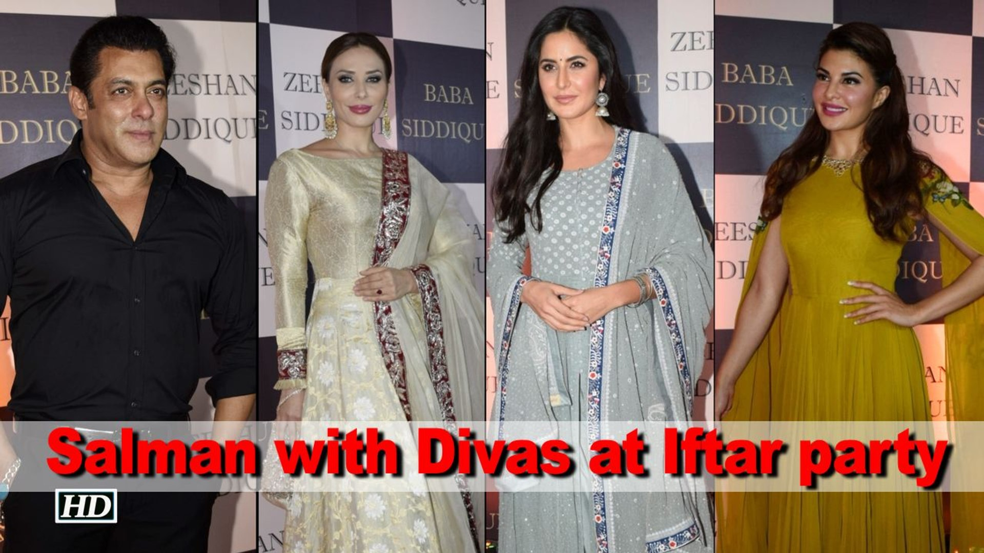 Eid Special: Salman with Divas attends Baba Siddique's Iftar party