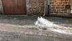 Un déluge soudain sur Fougères