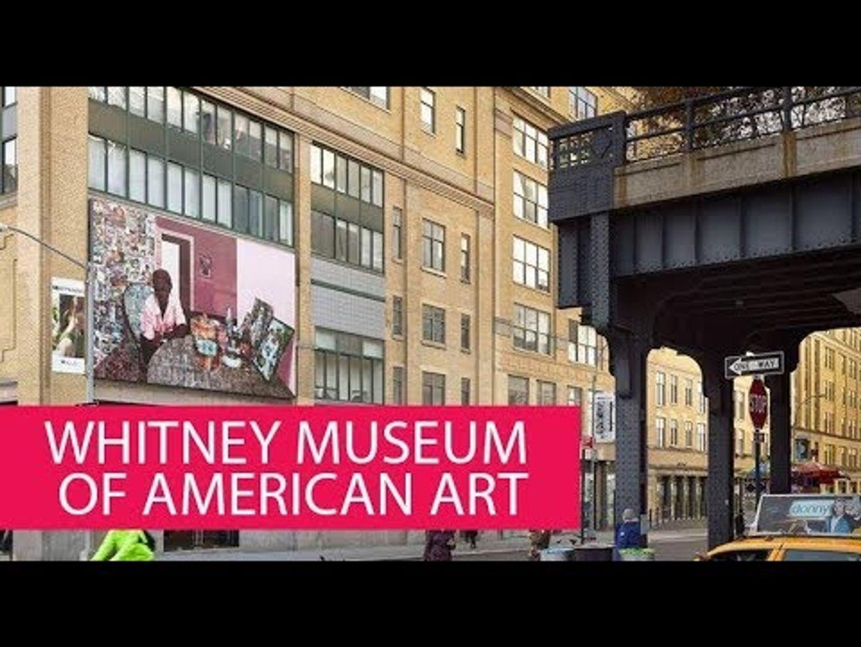 WHITNEY MUSEUM OF AMERICAN ART - USA, NEW YORK