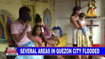 NEWS: Several areas in Quezon City flooded