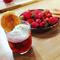 Nage de fraises et arlettes coco
