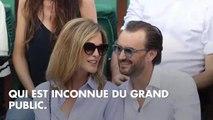 PHOTOS. Câlins, bisous... C'est l'amour fou entre Cyril Lignac et sa chérie Marine pendant la finale de Roland-Garros