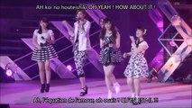 Tsugunaga, Kumai, Fukuda et Fukumura - BE HAPPY Koi no Yajirobee Vostfr + Romaji