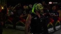 Rey Wagner (c) vs. Jeff Jarrett vs. Rey Mysterio Jr. AAA World Heavyweight Title Three Way Match AAA Verano De Escandalo 2018
