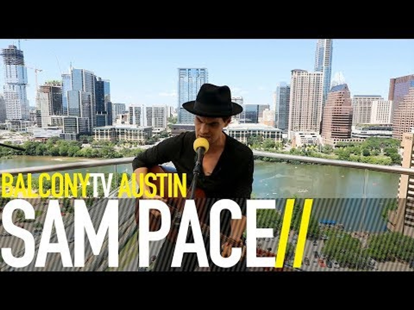 SAM PACE - MY LOVE IS A BURNING FIRE (BalconyTV)