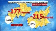 Alpes du Sud : deux fois plus de pluie que les printemps habituels, l'analyse de Christophe Adon