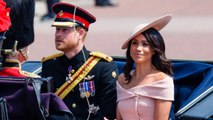 Meghan Markle Criticized for Off-the-Shoulder Dress at Trooping the Colour