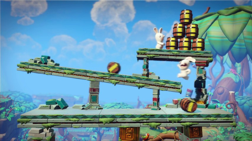 Mario + Rabbids Kingdom Battle Donkey Kong Adventure - E3 2018 Trailer