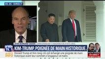 """Rencontre Kim-Trump: """"Oui, Donald Trump marque des points: mais maintenant, il va devoir apporter des résultats concrets"""" (Jean-Bernard Cadier)"""