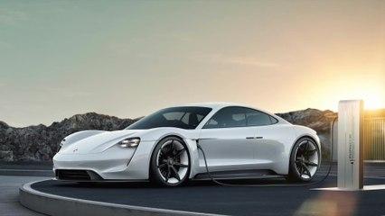 El primer coche deportivo totalmente eléctrico de Porsche se llama Taycan