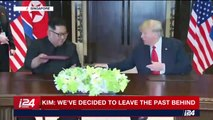 Trump, Kim sign 'comprehensive' joint document