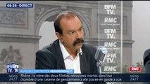 """SNCF: """"On est loin d'une sortie de grève, il reste des questions en suspens"""", assure Philippe Martinez (CGT)"""