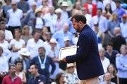 Damien Dumusois, arbitre de la finale de Roland-Garros