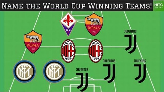 Guess the World Cup Winning Teams from their Club Sides