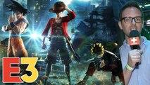 E3 2018 : On a joué à Jump Force avec Goku, Naruto et les autres sur Xbox One X, premier avis et infos