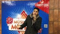 Artista Callejero: Cantante Fabricio Olave desde Santiago de Chile