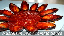 Mussels in Spicy Tomato Sauce - Easy Steamed Mussels Recipe