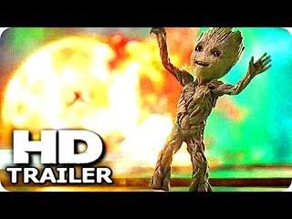"GUARDIANS OF THE GALAXY 2 ""Baby Groot Good Tunes"" Trailer (2017) Chris Pratt Marvel Action Movie HD"